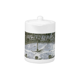 Colosseum with Stations of the Cross by Giovanni Teapot