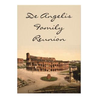 Colosseum y meta Sudans Roma Italia