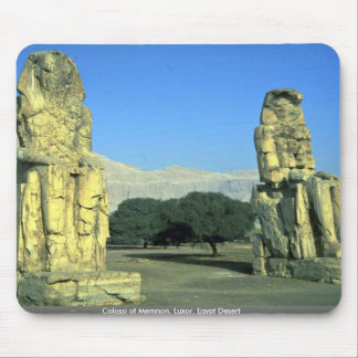 Colossi of Memnon, Luxor, Egypt Desert Mousepad