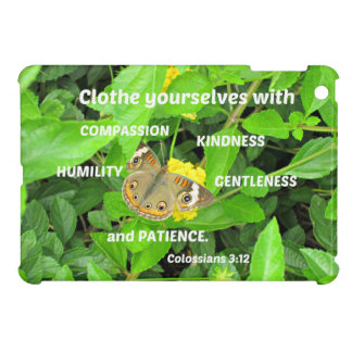 Colossians 3:12 Clothe yourselves with compassion iPad Mini Case
