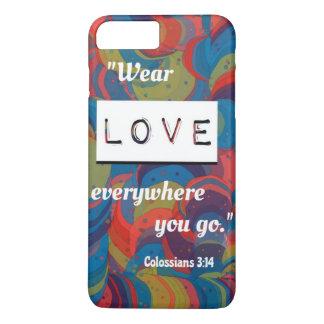 Colossians 3:14 iPhone 7 Plus Case