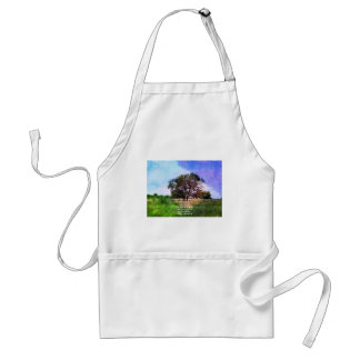 Colossians 3:15 Inspirational Bible Verse Adult Apron