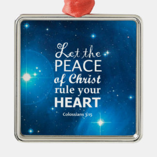 Colossians 3:15 ornaments