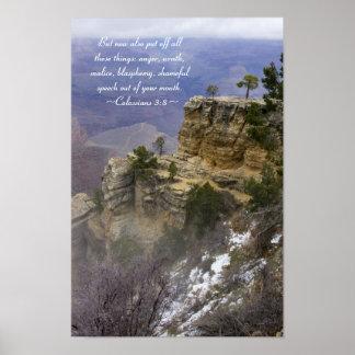 Colossians 3:8 Poster
