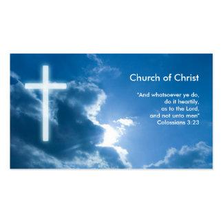 Colossians 3; azul del 23% el pipe% tarjetas de visita