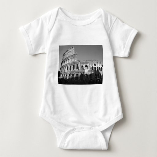 Colossium black and white baby bodysuit