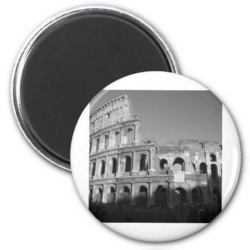 Colossium black and white fridge magnets