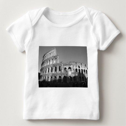 Colossium blanco y negro playera de bebé