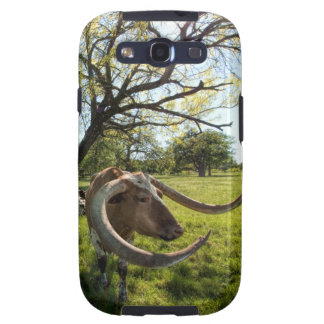 Colossol Texas Longhorn Cattle Galaxy SIII Case