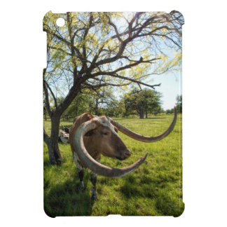 Colossol Texas Longhorn Cattle Cover For The iPad Mini