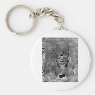 Colossus of Abu Simbel, Nubia ~ 1850 Keychain