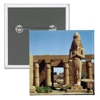 Colossus of Ramesses II: standing statue of 2 Inch Square Button