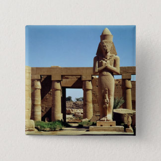 Colossus of Ramesses II: standing statue of Pinback Button