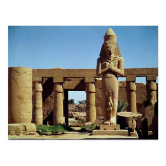Colossus of Ramesses II: standing statue of Postcard