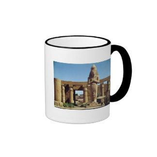Colossus of Ramesses II: standing statue of Ringer Coffee Mug