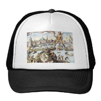 Colossus of Rhodes by Maerten van Heemskerck Trucker Hat