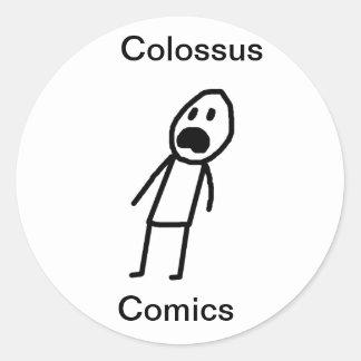 Colossus Scaredyguy sticker