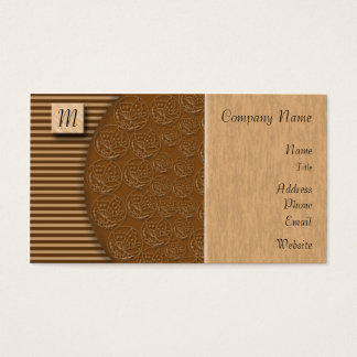 Colossus Wood Block Business Card