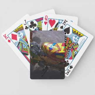 Colouful Ride Bicycle Playing Cards