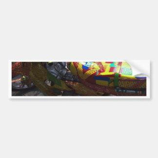 Colouful Ride Bumper Sticker