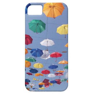 colouful umbrellas Antalya Turkey iPhone SE/5/5s Case