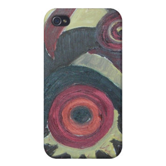 colour big bang iPhone 4 cases