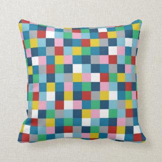 Colour Block Pillow