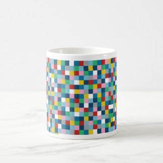 Colour Blocks Classic White Coffee Mug