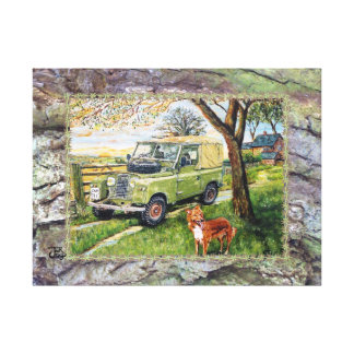 Colour Canvas FARM Image Gallery Wrapped Canvas
