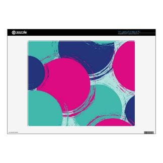 Colour Circle Pattern Laptop Skin
