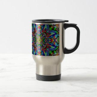 Colour cross travel mug