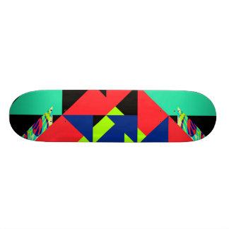 Colour Cuts - Skateboard
