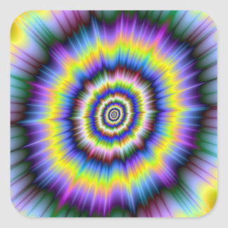Colour Explosion Sticker