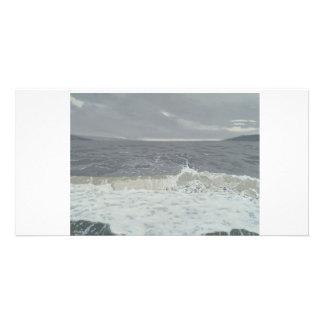 Colour fine art illustrated photocard card