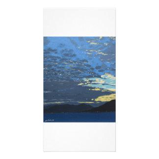 Colour fine art photocard card