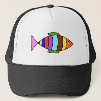 Colour Fish Trucker Hat
