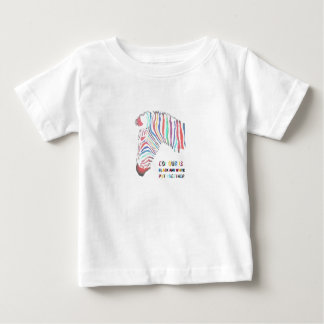 Colour Is Black and White Put Together Baby T-Shirt