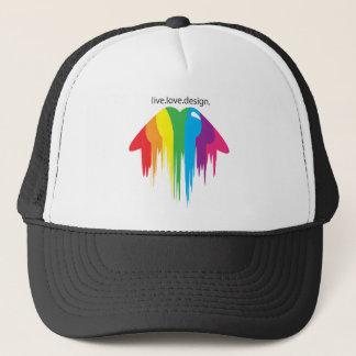 Colour Lips Trucker Hat