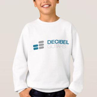 Colour logo on light sweatshirt