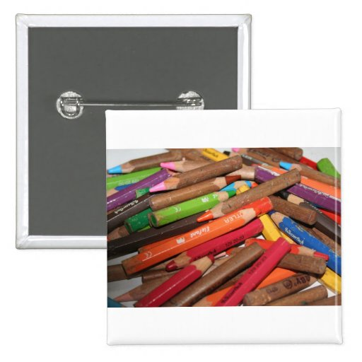 Colour Me a Rainbow Products 2 Inch Square Button