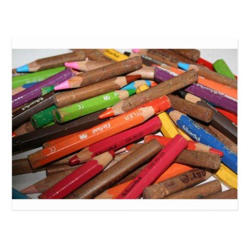 Colour Me a Rainbow Products Postcard