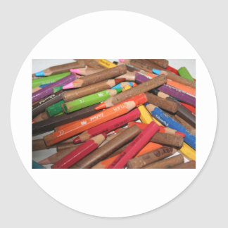 Colour Me a Rainbow Products Round Sticker
