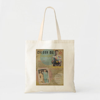 Colour Me Beautiful Faux 1950s Print Ad Tote Bag