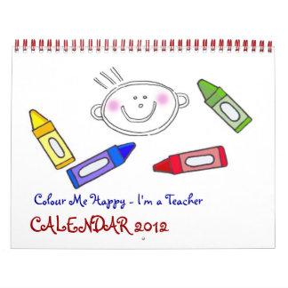 Colour Me Happy Calendar