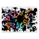 colour my life, Farbklekse | Black Ink/ Felicitacion