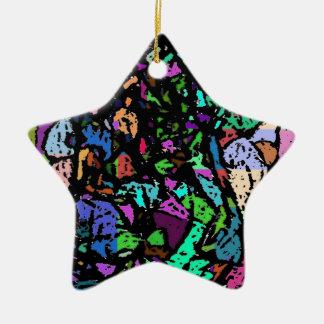 colour my world ceramic ornament