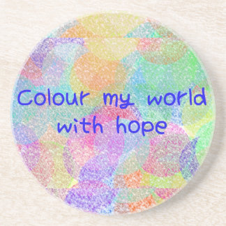 Colour My World Coaster