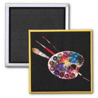 COLOUR PALETTE,Painter Artist Fridge Magnets