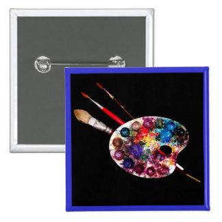 COLOUR PALETTE,Painter,Artist Pinback Button