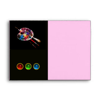 COLOUR PALETTE pink Envelope